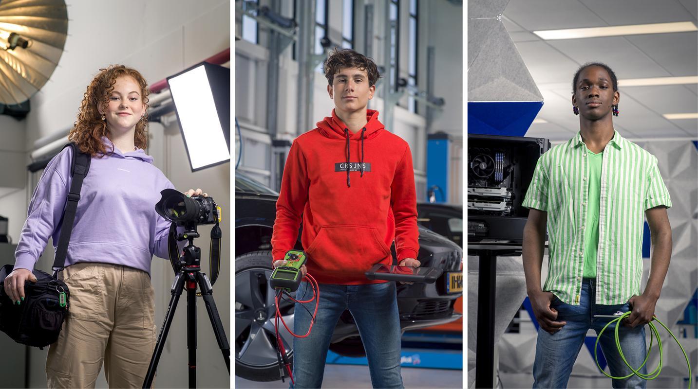 Vakhelden Fotografie, Motorvoertuigen en IT & Development