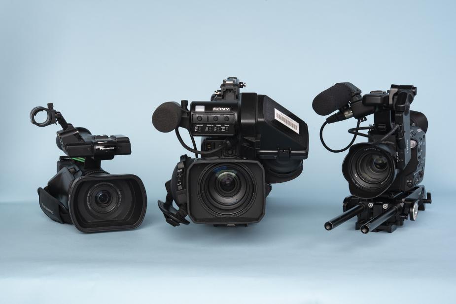 Filmcamera's bij de uitleen