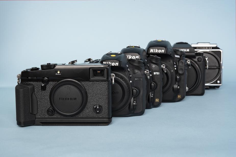 Fotocamera's bij de uitleen